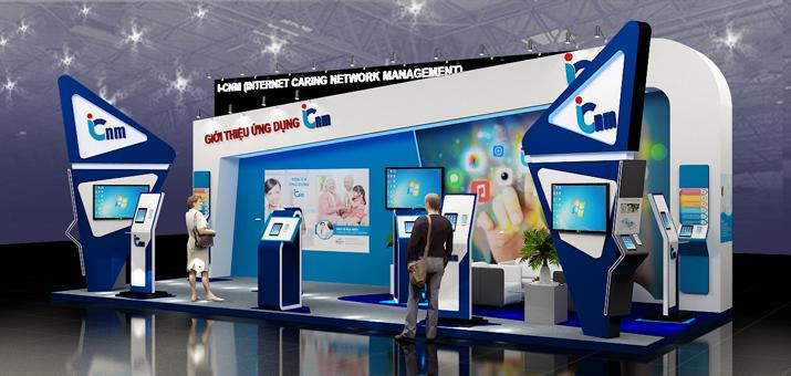 Gian hàng ICNM 2018